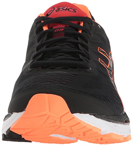 Hot ASICS Gel Men Shoe Vermilion Black Running Kayano Orange 23 0dr0qnATw