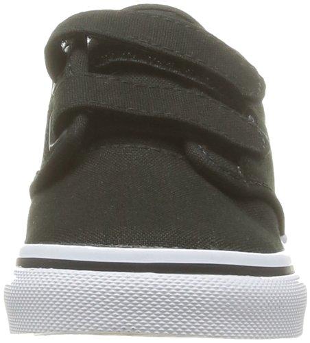 Vans T Atwood V - Zapatillas de Deporte de tela Infantil negro - Noir (Canvas/Blk/Wht)