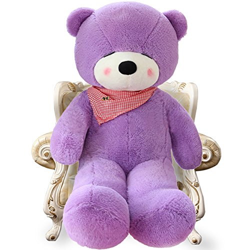 Stuffed Animal Teddy Bear Plush Soft Toy 160CM Huge Soft Toy Pink - 4