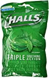 Halls, Triple Soothing Action Cough Suppressant Drops, Spearmint - 30 ea