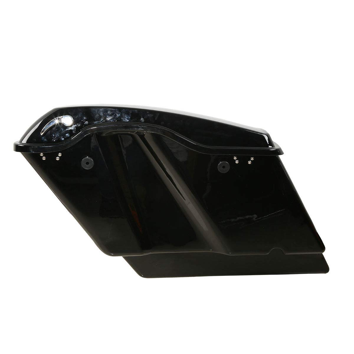 TCMT 5'' Stretched Extended Saddlebags W/Latch Key Fits For Harley Touring 2014-2019 by TCMT (Image #3)