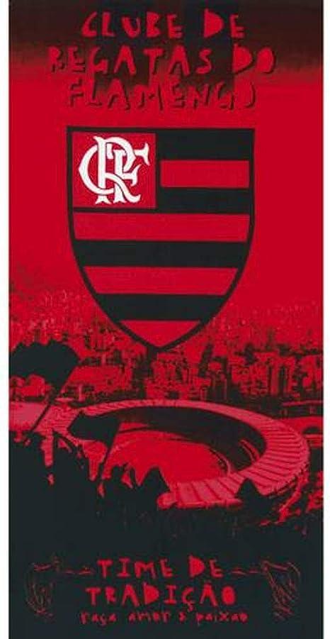 Auténtico equipo de fútbol Flamengo toalla de playa – tipo I ...