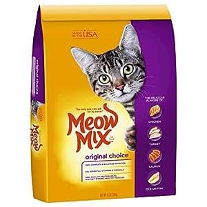 Meow Mix Original Choice Dry Cat Food, 16 lb