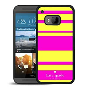 Unique Custom Designed Kate Spade Cover Case For HTC ONE M9 Black Phone Case 45