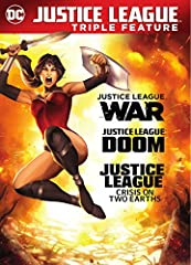 Justice League: War / Doom / Crisis on 2 Earths (DVD) (Repackaged)]]>