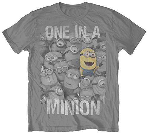 Despicable Me One in a Minion Adult T-shirt