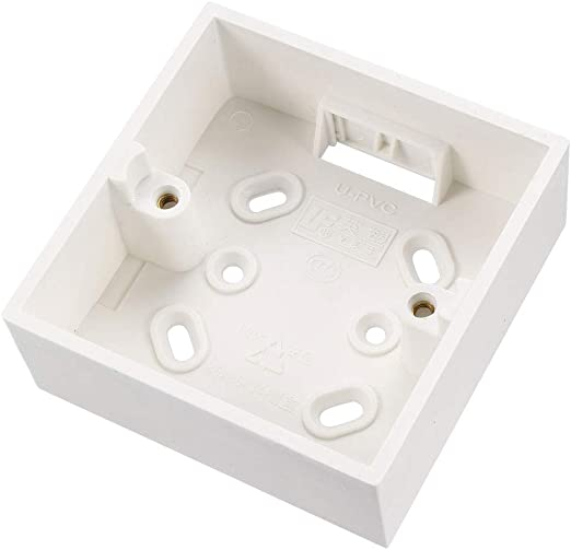 sourcing map Caja de Interruptor De Pared Eléctrica En Superficie ...