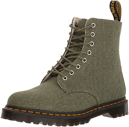 Dr Martens Pascal Canvas Olive Fashion Olive Boot Military w6x8zwrO