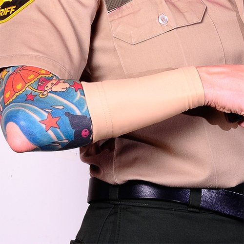 Tat2x ink armor premium forearm 6 tattoo cover up sleeve for Premium tattoo ink