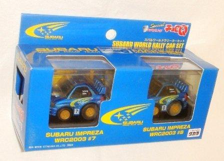 超リアル仕上げチョロQスペシャル スバルワールドラリーカーセット(2台セット)