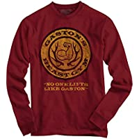 Beauty and The Beast Disney Shirt | Gaston leroux Gym Workout Long Sleeve Tee