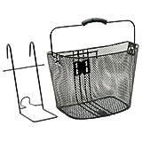 Sunlite Lift-Off Bicycle Basket, Black