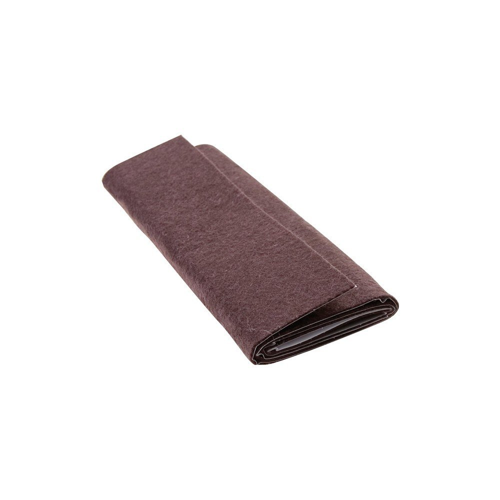 Waxman Consumer 31510031 6'' X 18'' SELF-STICK FELT BLANKET, BROWN