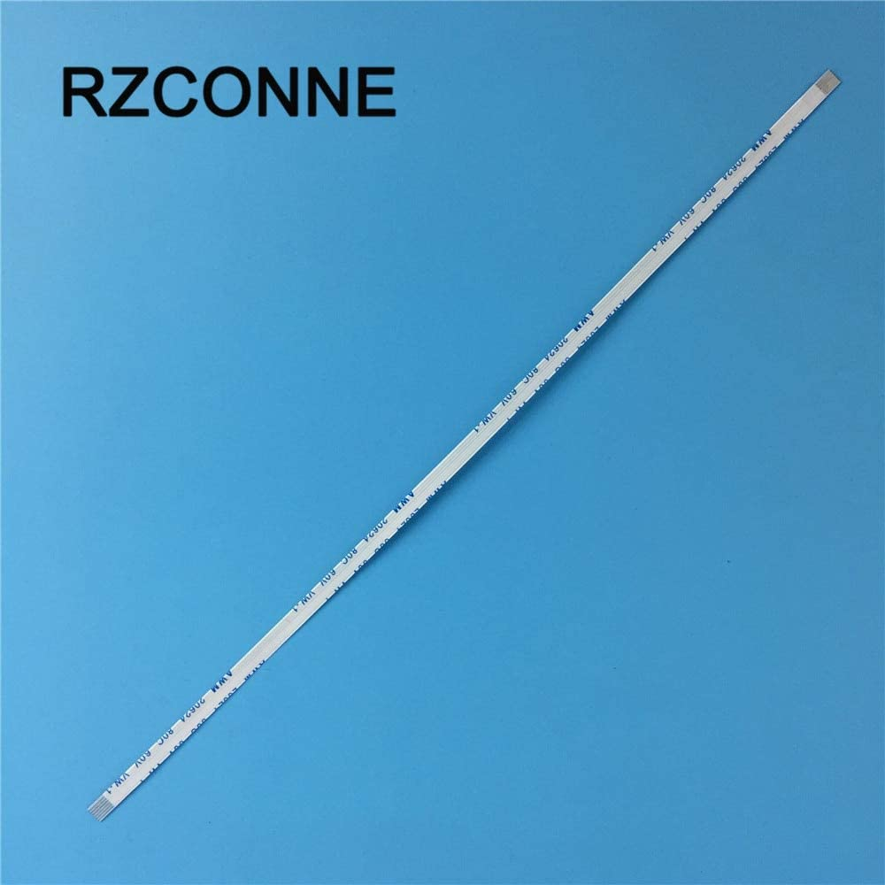 Cable Length: 500mm Connectors 5pcs Forward Direction 6 Pin FFC FPC Flexible Flat Cable Pitch 0.5mm Length 100mm//200mm//250mm//400mm//500mm