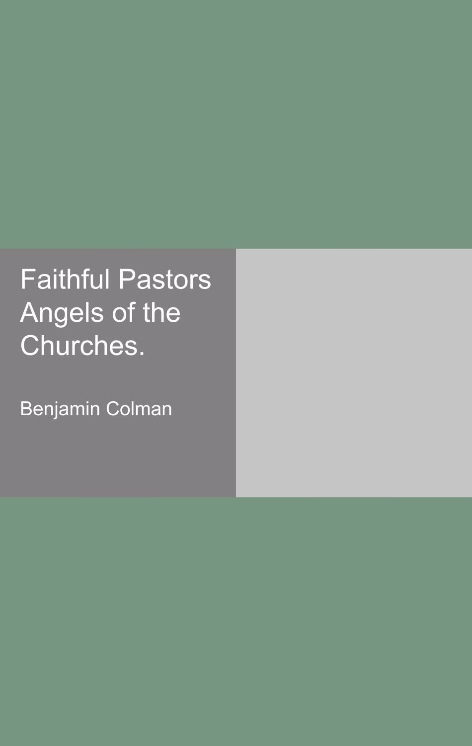 Download Faithful Pastors Angels of the Churches. ebook