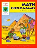 img - for Math Puzzles & Games: A Workbook for Ages 4-6 (Gifted & Talented Series) book / textbook / text book