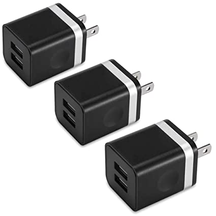 Amazon.com: Cargador de pared USB, BEST4ONE 10,5 W (2,1 A/5V ...