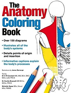 Complete Anatomy Coloring Book