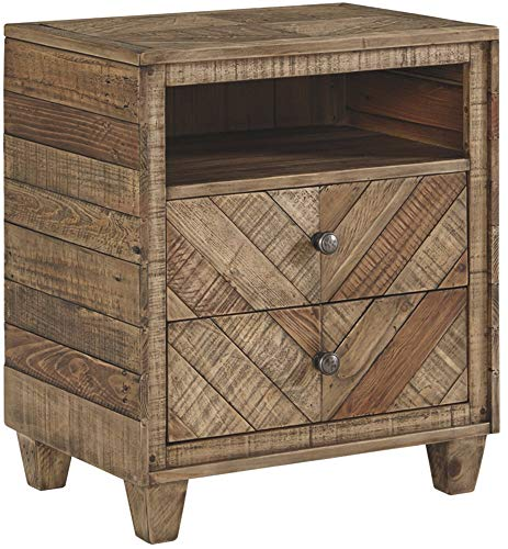 - Signature Design by Ashley B754-92 Grindleburg Dressers, Light Brown