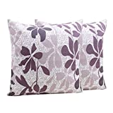 storeindya Thanksgiving Gifts Set of 2 Hand Woven 100% Cotton Square Pillow Covers