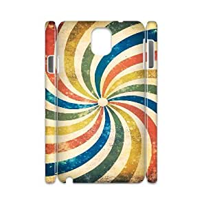 3D [Spiral Series] Samsung Galaxy Note 3 Cases The Spiral, Case For Samsung Galaxy Note 3 Boys Sexyass - White