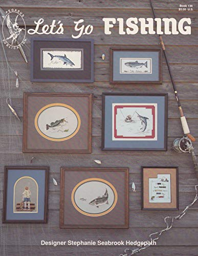 Pegasus Originals Let's Go Fishing Counted Cross Stitch Leaflet