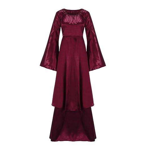 Amazon.com: Vestido de Renacimiento de Clearance, Forthery ...
