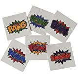 Superhero Tattoos (144 Per Order)
