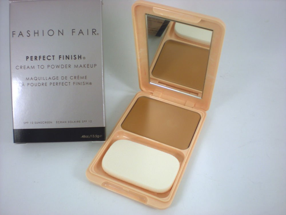 fashion fair oil free cream to powder brown blaze