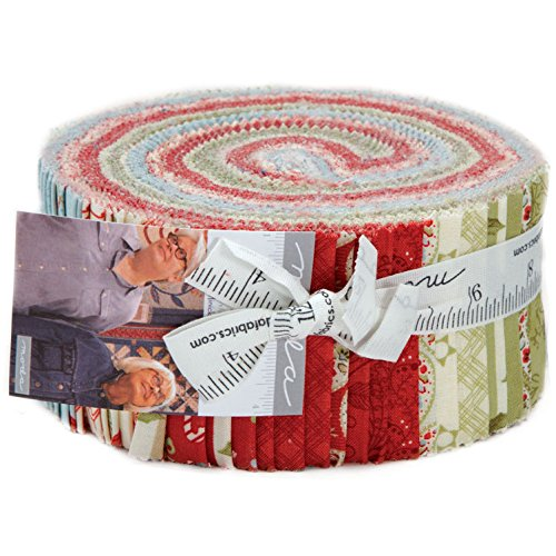 Moda Fabric Strips - 3