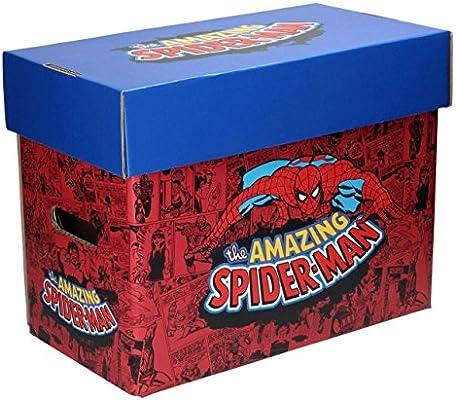 SD Toys SDTMAR20694 - Caja con diseño Spider-Man: Amazon.es: Oficina y papelería