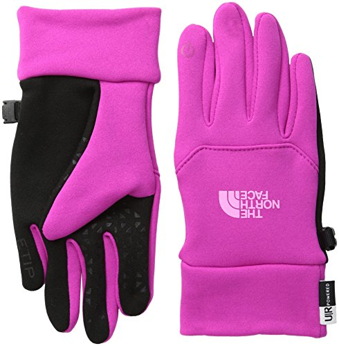 Youth Etip Touchscreen Gloves Pink Blue-Large-Pink (The North Face Stretch Vest)