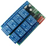 Eletechsup DC 24V 30A Multifunction Timer Delay Relay Module High Power On/Off Adjustable for PLC Motor LED Pump