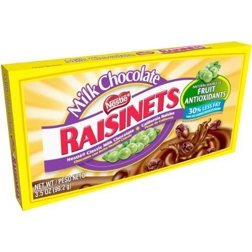Raisinets Candy Theater Box, 3.5 oz by Raisinets