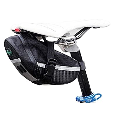 SUPOW(TM) Bicycle Quick Release Waterproof Durable Tail Mountain Bike Road Bike Seat Bag/Kit Straps Bag/Mountain Road Car Cushion Package Kit/Bind Saddle Bag