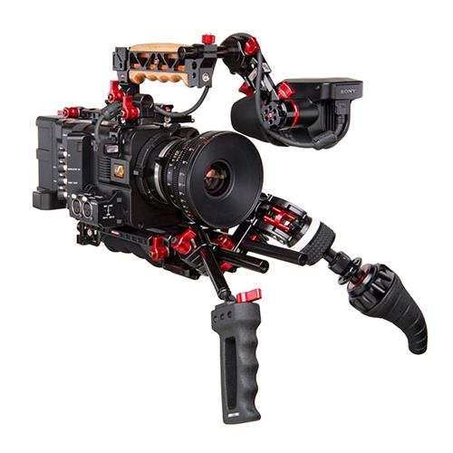 Zacuto EVF Recoil Kit for the Sony F5 and F55 Video Cameras, Includes VCT Universal Baseplate, Zgrip Z-Mount Zwivel, F5/F55 Top Plate by Zacuto
