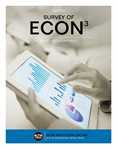 Survey of ECON (with Survey of ECON Online, 1 term (6 months) Printed Access Card) (New, Engaging Titles from 4LTR Press)