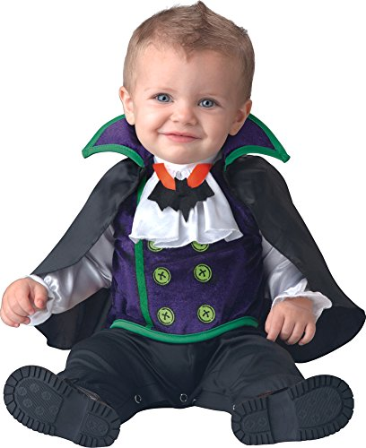 [Count Cutie Costume - Infant Large] (Toddler Vampire Halloween Costumes)