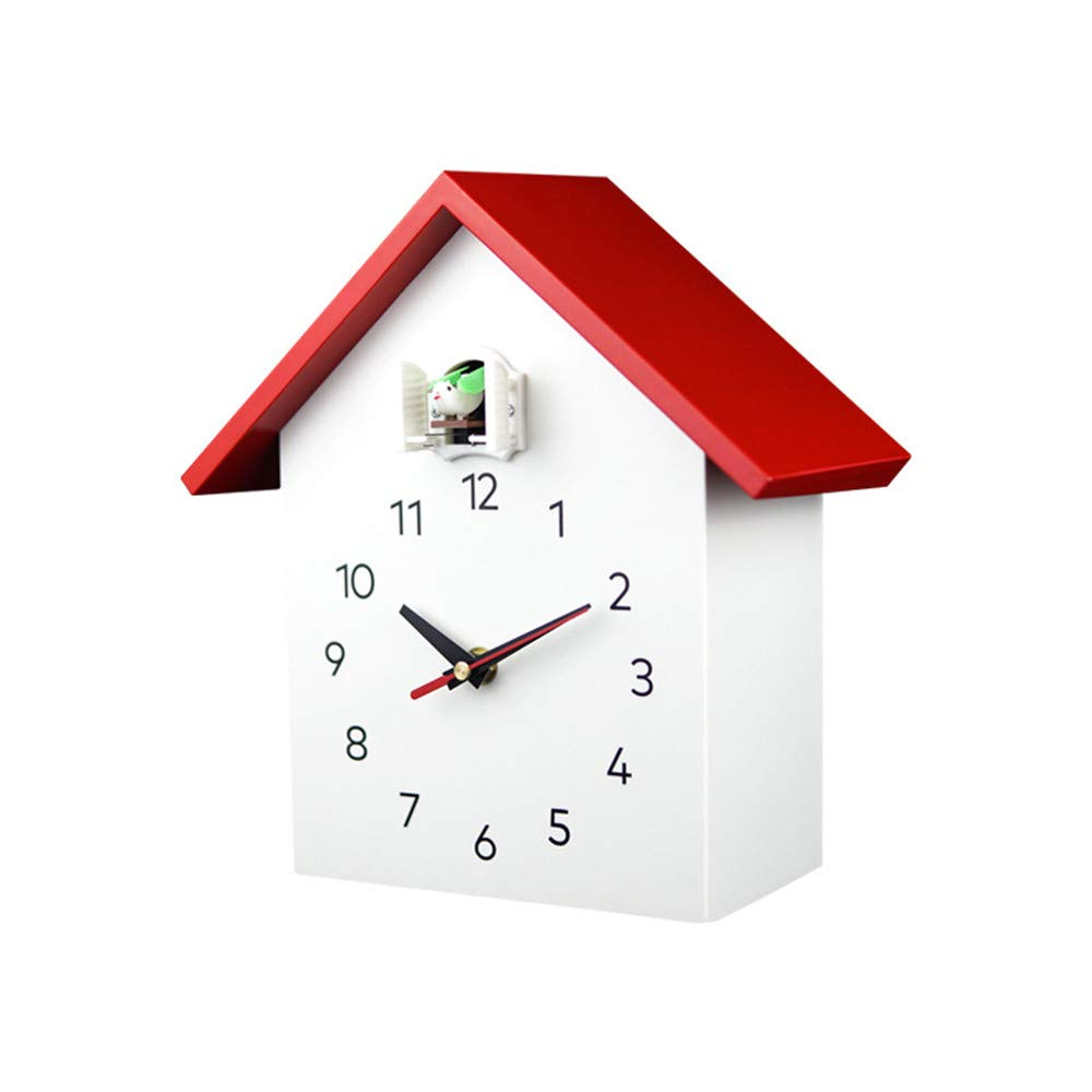 Home Decor White Birdhouse Vivid Large Cuckoo Clock Cuckoo Clock Minimalist Modern Design Cuckoo Clock With Timed Alarm Clock Chime Has Automatic Shut Off Kitchen Home A1white Home Hyundai Lighting Com Mk