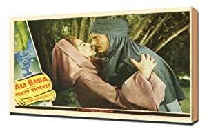 Poster - Ali Baba and the Forty Thieves (1944)_17 - Pintura en lienzo