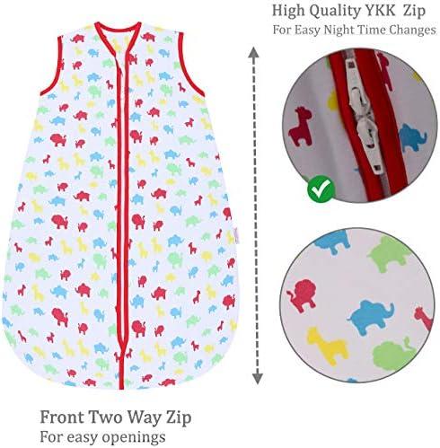 Snoozebag Gigoteuse pour bébé en bas âge Motif jungle Fun 100% coton 2,5 Tog Multicolore (3-6 ans)