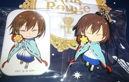 Prince Shusuke Fuji rubber strap can badge set of new tennis