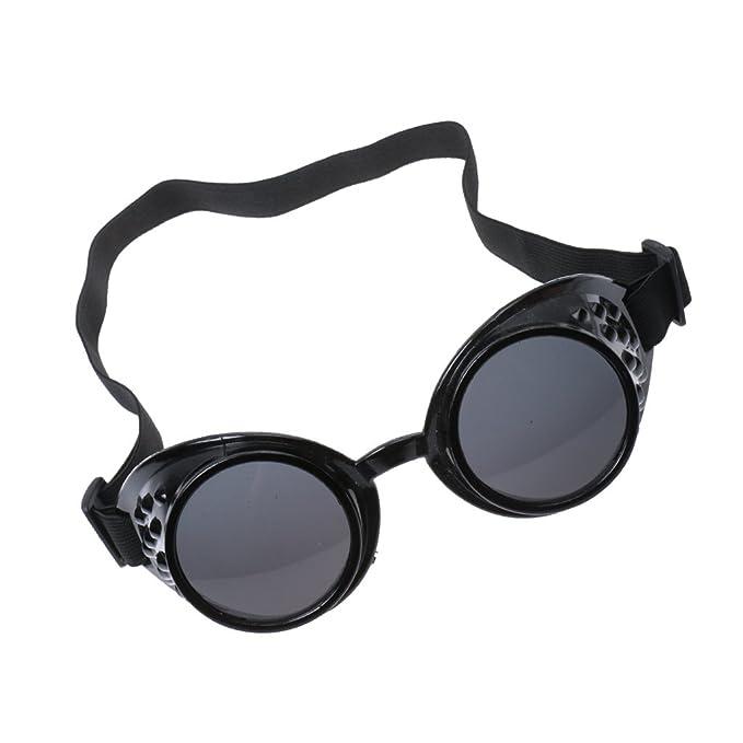 Baoblaze Gafas Steampunk Victoriano Cosplay Soldadura Negro Gótico Traje Decoración para Oficina de Clubs Habitación - Negro, Única: Amazon.es: Ropa y ...