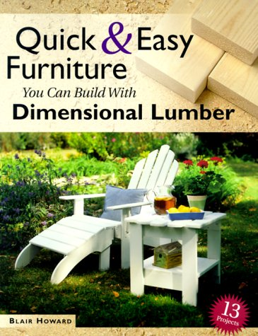 Adirondack Furniture Store - Quick & Easy Furniture You Can Build With Dimensional Lumber