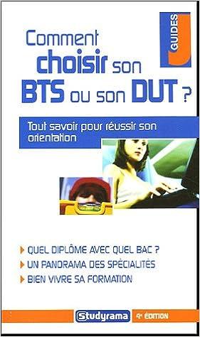 Livre gratuits en ligne Comment choisir son BTS ou son DUT ? epub pdf