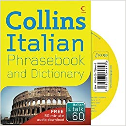 Collins Italian Phrasebook and Dictionary Paperback Book The Cheap Fast Free