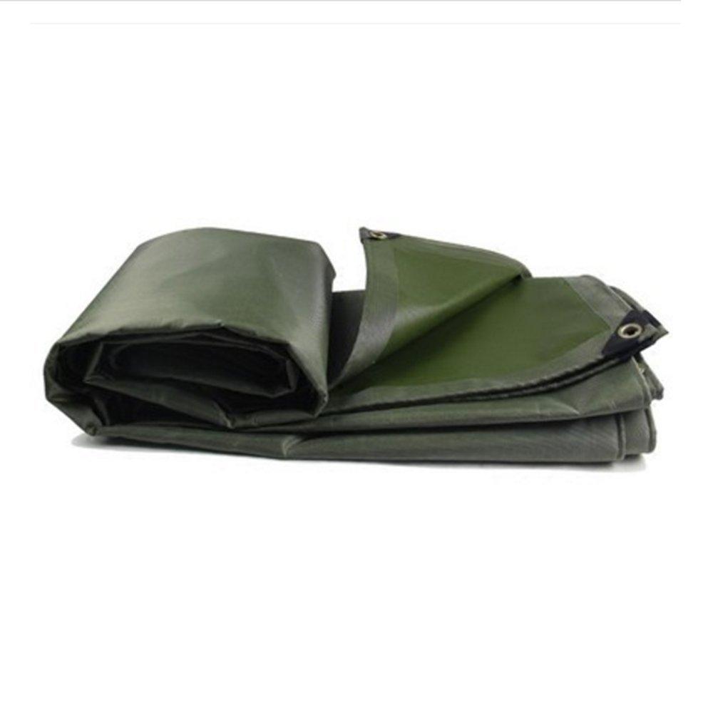 Tarpaulin NAN Telo copriauto per teloni Impermeabili per Teli Impermeabili da Pioggia Telo da Tenda in Tela 0,55 mm -580 g   m2 (Dimensioni   2  2m)