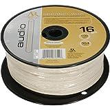 ACOUSTIC RESEARCH AP-16100W 100'  White 16 Gauge Oxygen-Free Speaker Wire