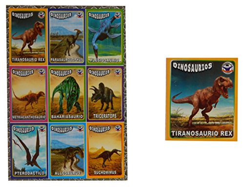Dinosaur Bingo Game for Kids / Loteria de Dinosaurios