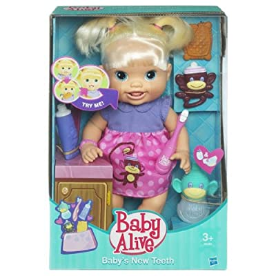 Baby Alive Babys Teeth - Blonde Styles May Vary from Hasbro